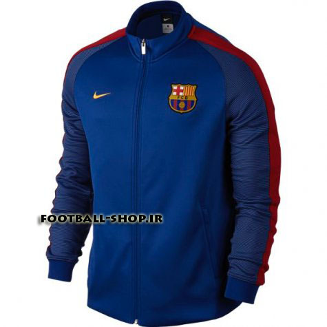 گرمکن اورجینال 2017 سرمه ای(1)بارسلونا-Nike