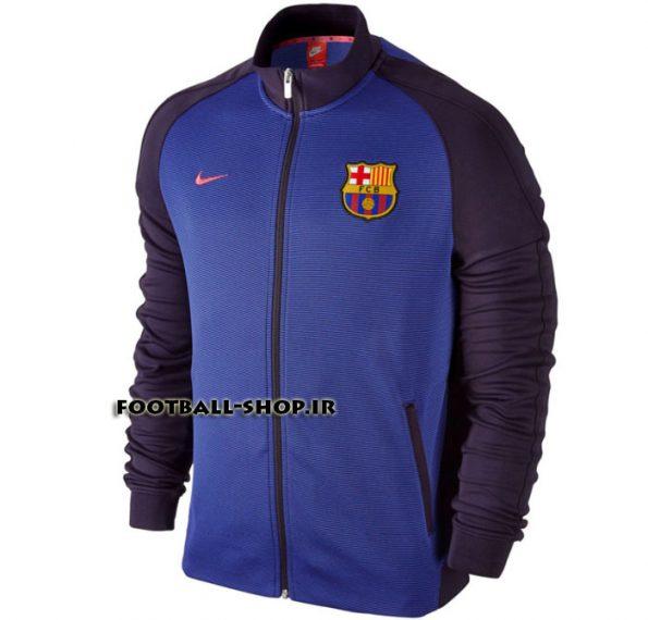 گرمکن اورجینال سرمه ای(2)بارسلونا-Nike
