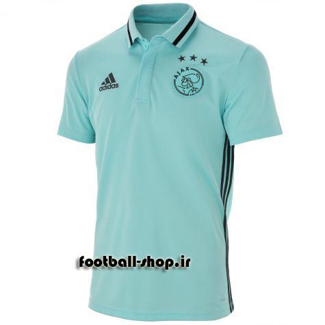 پولوشرت اورجینال آبی آژاکس-Adidas