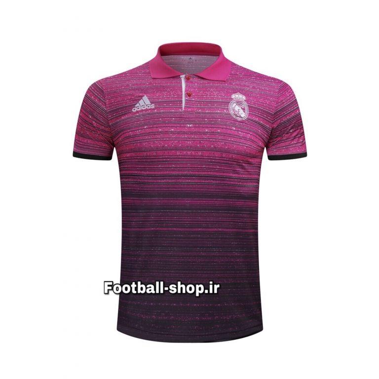 پولوشرت اورجینال صورتی مشکی رئال مادرید-Adidas