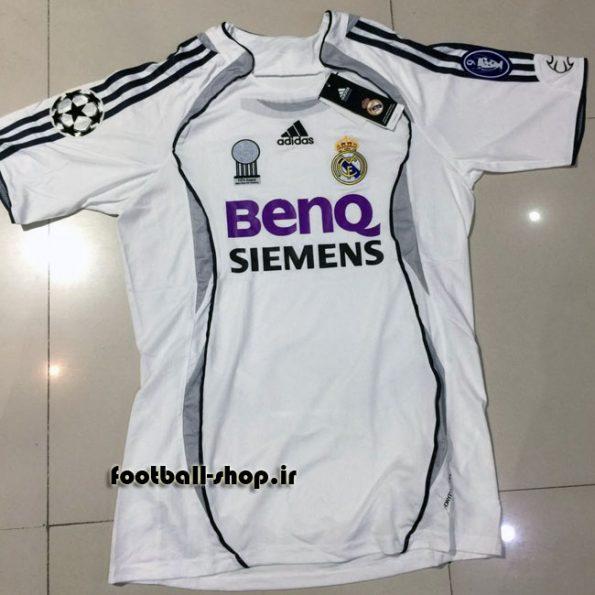 پیراهن اول 2006/2007 اوریجینال رئال مادرید-Adidas