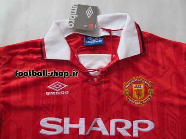 لباس کلاسیک اوریجینال قرمز 1993/94منچستریونایتد-Adidas