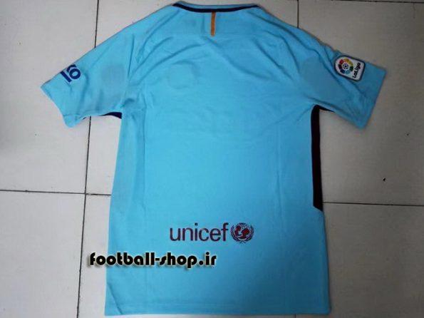 پیراهن دوم اوریجینال 2017-2018 بارسلونا-بی نام-Nike