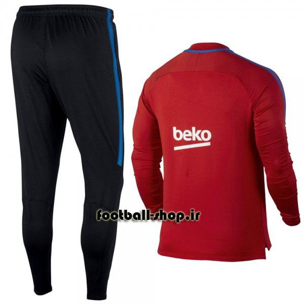 ست سویشرت شلوار حرفه ای اورجینال قرمز بارسلونا-Nike