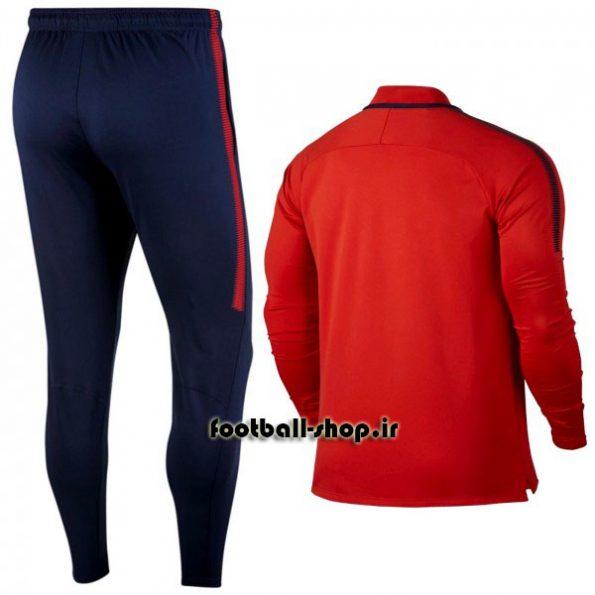 ست سویشرت شلوار حرفه ای قرمز 2018 اورجینال پاری سن ژرمن-Nike