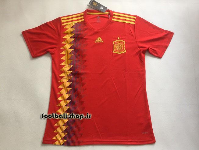 پیراهن اول اورجینال آستین کوتاه جام جهانی 2018 اسپانیا-بی نام-Adidas