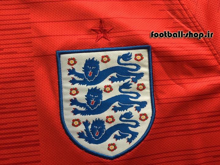 پیراهن دوم اورجینال آستین کوتاه جام جهانی 2018 انگلیس-بی نام-Nike
