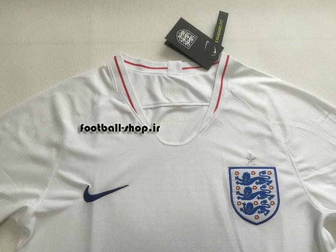 پیراهن اول اورجینال آستین کوتاه جام جهانی 2018 انگلیس-بی نام-Nike