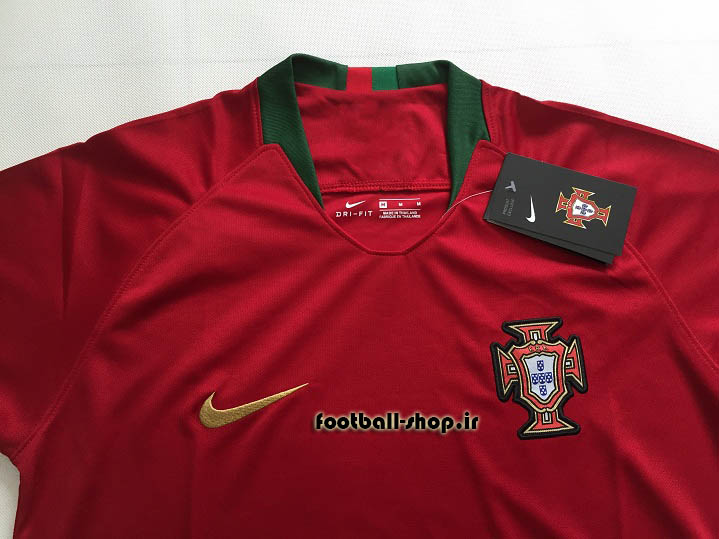 پیراهن اول اورجینال آستین کوتاه جام جهانی 2018 پرتغال-بی نام-Nike