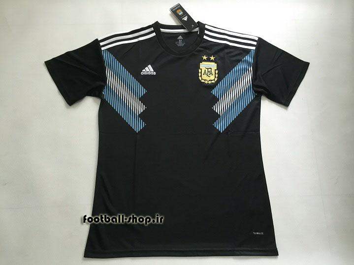 پیراهن دوم اورجینال آستین کوتاه جام جهانی 2018 آرژانتین-بی نام-Adidas
