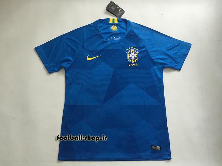 پیراهن دوم اورجینال آستین کوتاه جام جهانی 2018 برزیل-بی نام-Nike