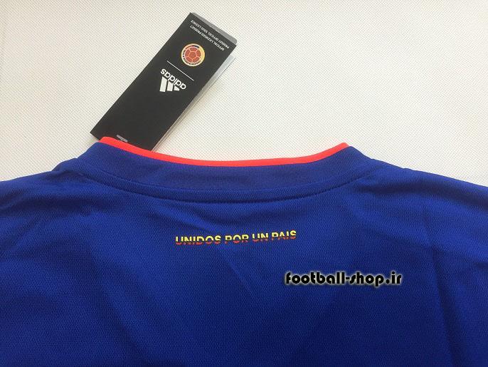 پیراهن دوم اورجینال آستین کوتاه جام جهانی 2018 کلمبیا-Adidas