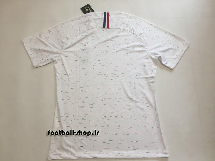 پیراهن دوم اورجینال آستین کوتاه جام جهانی 2018 فرانسه-Nike