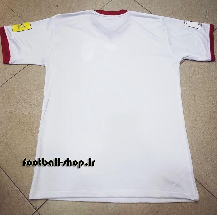 پیراهن اول اورجینال آستین کوتاه جام جهانی 2018 ایران-Adidas