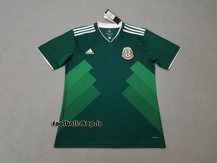 پیراهن اول اورجینال آستین کوتاه جام جهانی 2018 مکزیک-Adidas