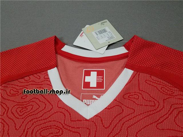 پیراهن اول اورجینال آستین کوتاه جام جهانی 2018 سوئیس-Puma