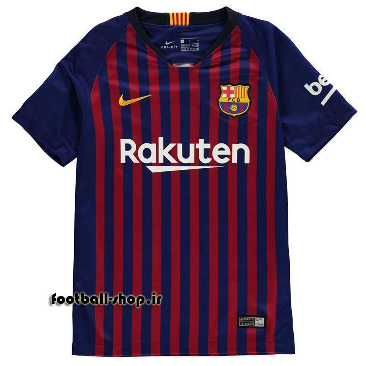 پیراهن اول اورجینال 2018-2019 بارسلونا-بی نام-Nike