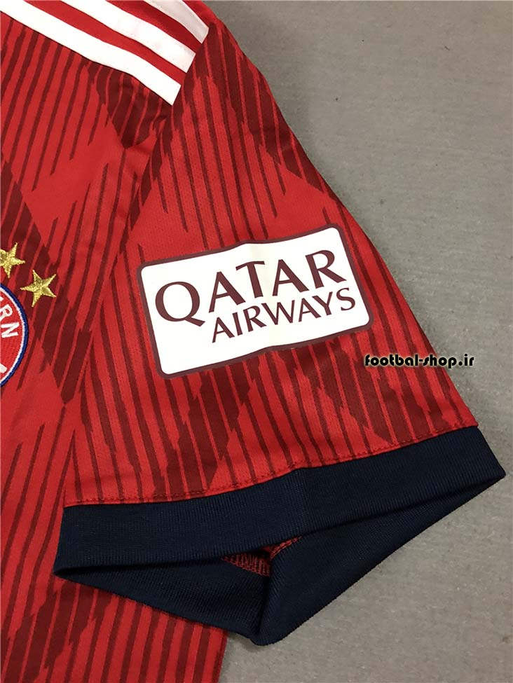 پیراهن اول اورجینال 2018-2019 بایرن مونیخ-سفارشی-Adidas