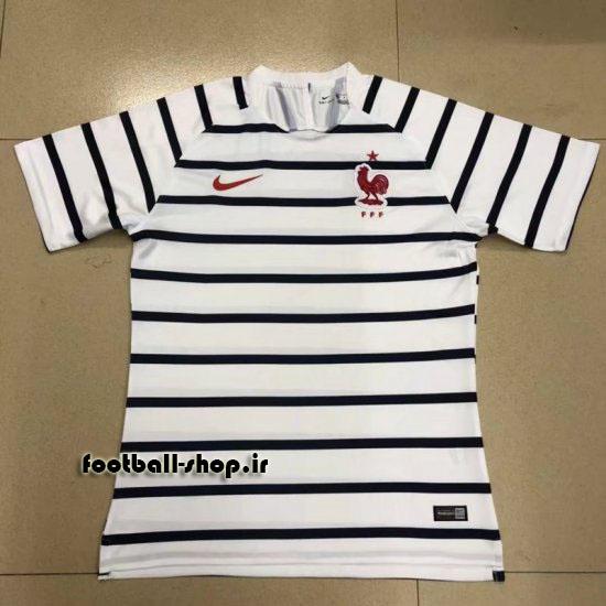 پیراهن هواداری اورجینال آستین کوتاه جام جهانی 2018 فرانسه-Nike