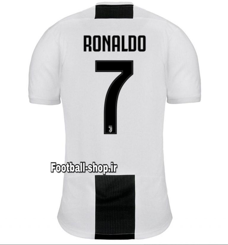 پیراهن اول اورجینال 2018-2019 یوونتوس-رونالدو-Adidas