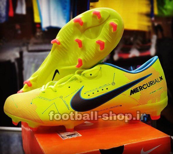 کفش استوک فوتبال اورجینال های کپی نایک مرکوریال 2018 ( زرد)