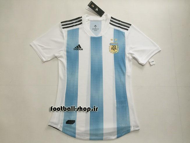 پیراهن اول اورجینال 2018 آرژانتین-Adidas-ورژن بازیکن(Player)