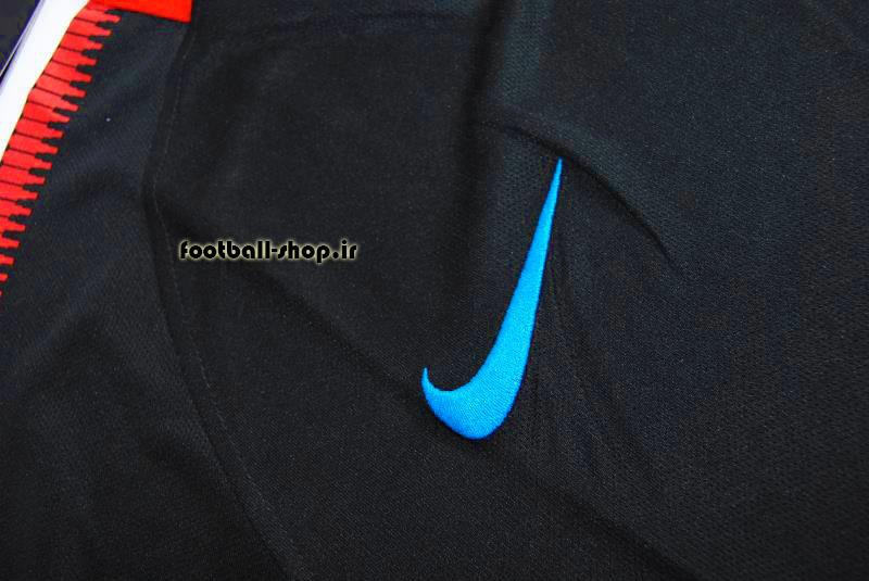 پیراهن مشکی اورجینال 2017-2018 بارسلونا-بی نام-Nike