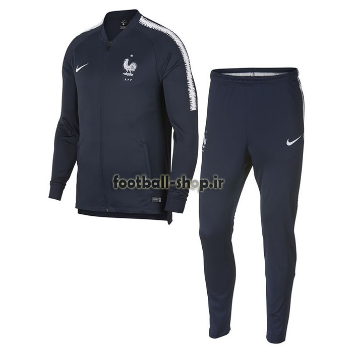 ست گرمکن شلوار حرفه ای سرمه ای 2019 اورجینال فرانسه-Nike