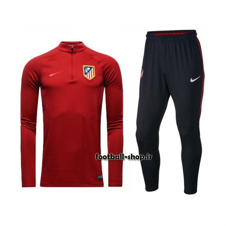 ست سویشرت شلوار حرفه ای قرمز 2018 اورجینال اتلتیکومادرید-Nike