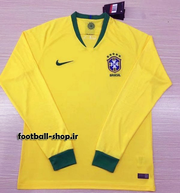 پیراهن اول آستین بلند اریجینال برزیل 2019-بی نام-Nike