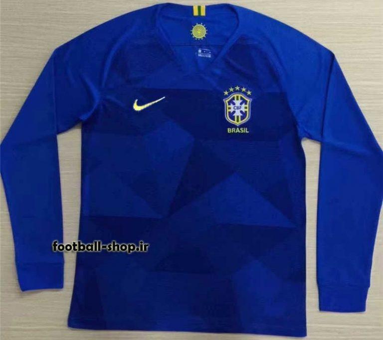 پیراهن دوم آستین بلند اریجینال برزیل 2019-بی نام-Nike