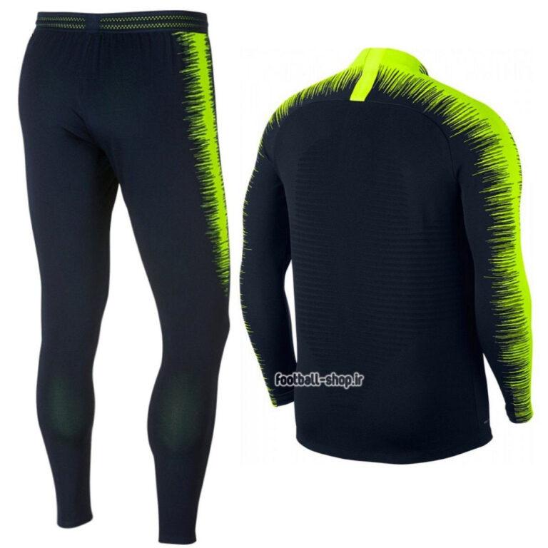 ست سویشرت شلوار حرفه ای مشکی فسفری اورجینال منچسترسیتی-Nike