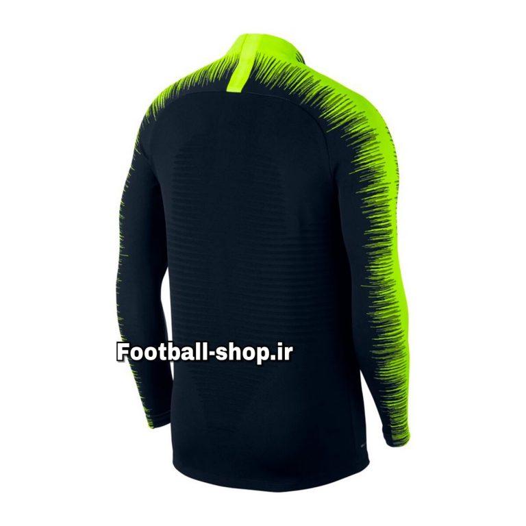ست سویشرت شلوار حرفه ای مشکی فسفری 2018/19 اورجینال منچسترسیتی-Nike