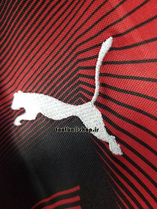 پیراهن هواداری قرمزمشکی آستین کوتاه اریجینال میلان2019-بی نام-Puma