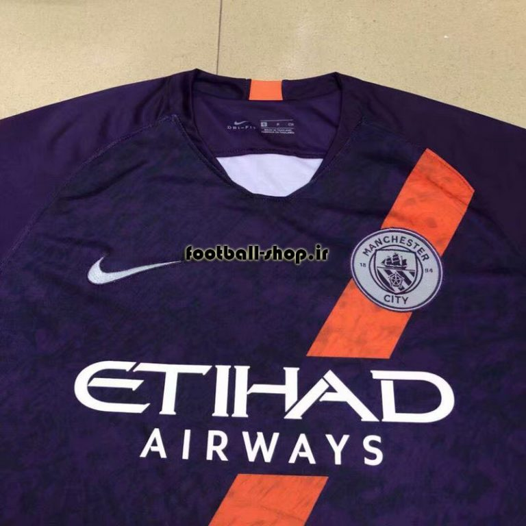 پیراهن بنفش اریجینال درجه یک +A منچسترسیتی-Nike