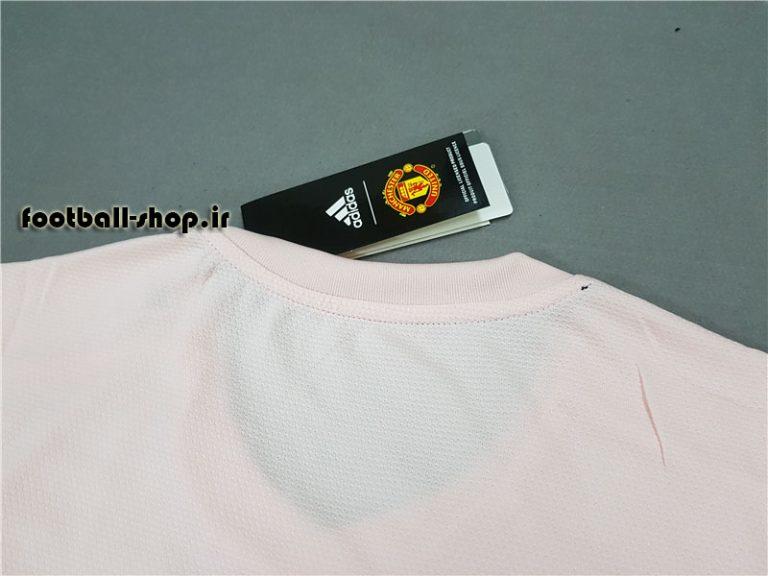 پیراهن دوم گلبهی آستین کوتاه اریجینال منچستریونایتد 2018/19-بی نام-Adidas