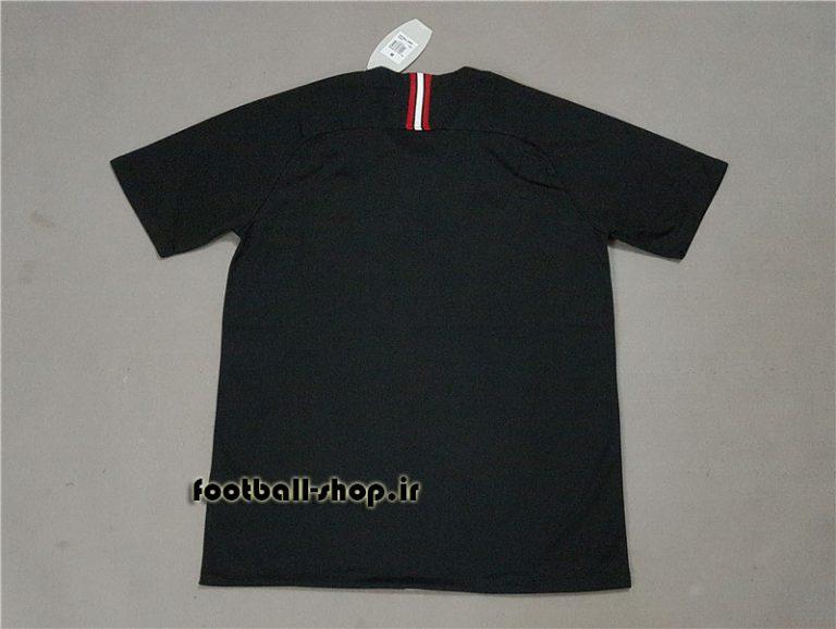 پیراهن مشکی اروپایی آستین کوتاه اریجینال پاری سن ژرمن2019-بی نام-Jordan