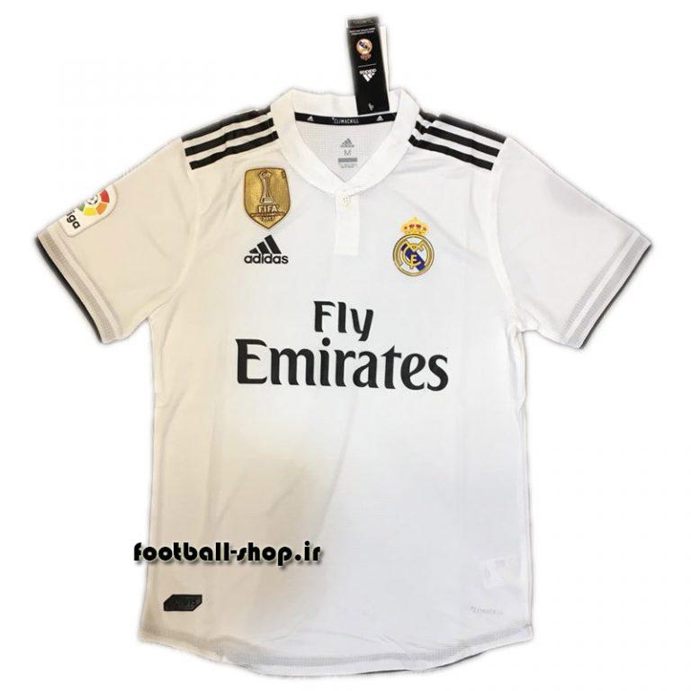 پیراهن اول اورجینال 2018/19 رئال-Adidas-ورژن بازیکن(Player)