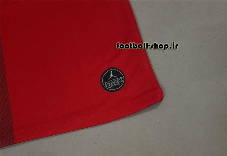 پیراهن قرمز اروپایی آستین کوتاه اریجینال پاری سن ژرمن2019-بی نام-Jordan