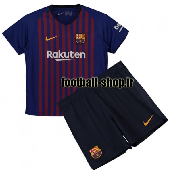پیراهن شورت اول اریجینال بارسلونا (بچه گانه)2018/19-Nike