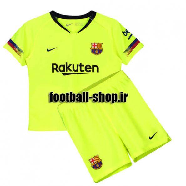پیراهن شورت دوم اریجینال بارسلونا (بچه گانه)2018/19-Nike