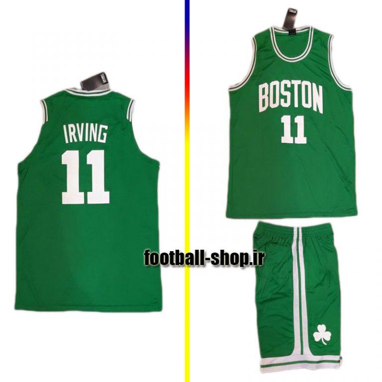 پیراهن و شورت سبز بسکتبال تیم بوستون سلتیکس 2020 | کایری ایروینگ ۱۱#