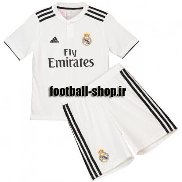 پیراهن شورت اول اریجینال رئال مادرید(بچه گانه)2018/19-Adidas