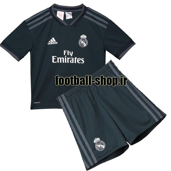 پیراهن شورت دوم اریجینال رئال مادرید(بچه گانه)2018/19-Adidas