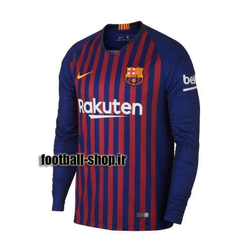 پیراهن اول آستین بلند اورجینال 2018-2019 بارسلونا-بی نام-Nike