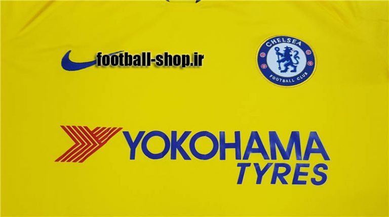 پیراهن زرد آستین کوتاه اریجینال درجه یک +A چلسی-Nike