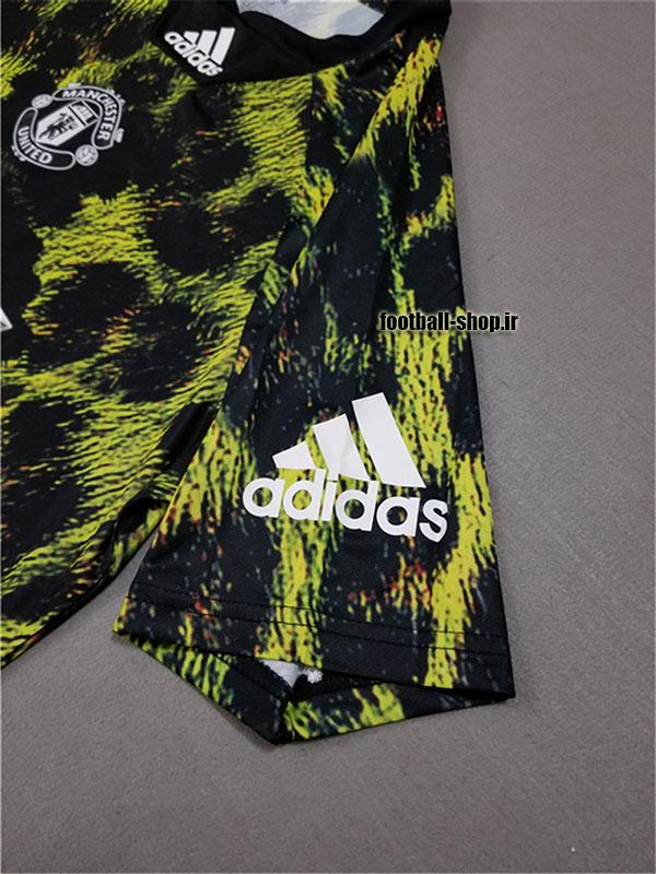 پیراهن دیجیتال طرح فیفا اورجینال 2018-2019 منچستریونایتد-بی نام-Adidas
