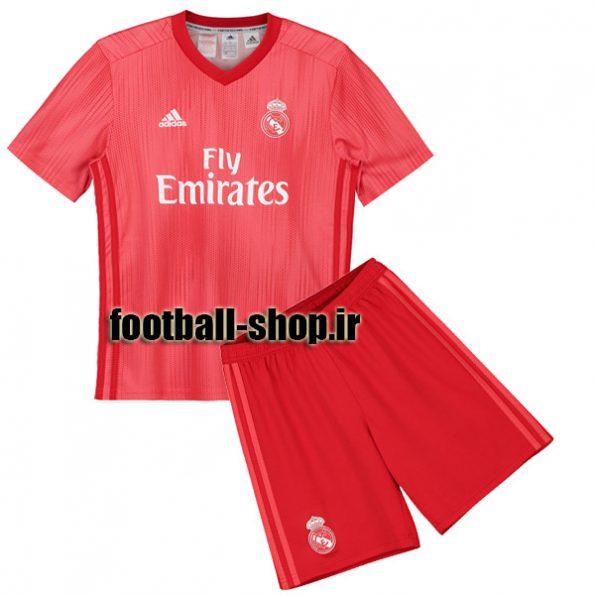 پیراهن شورت سوم اریجینال رئال مادرید(بچه گانه)2018/19-Adidas