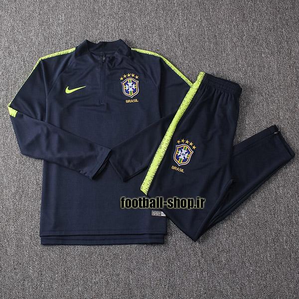 ست سویشرت شلوار حرفه ای سرمه ای برزیل-Nike
