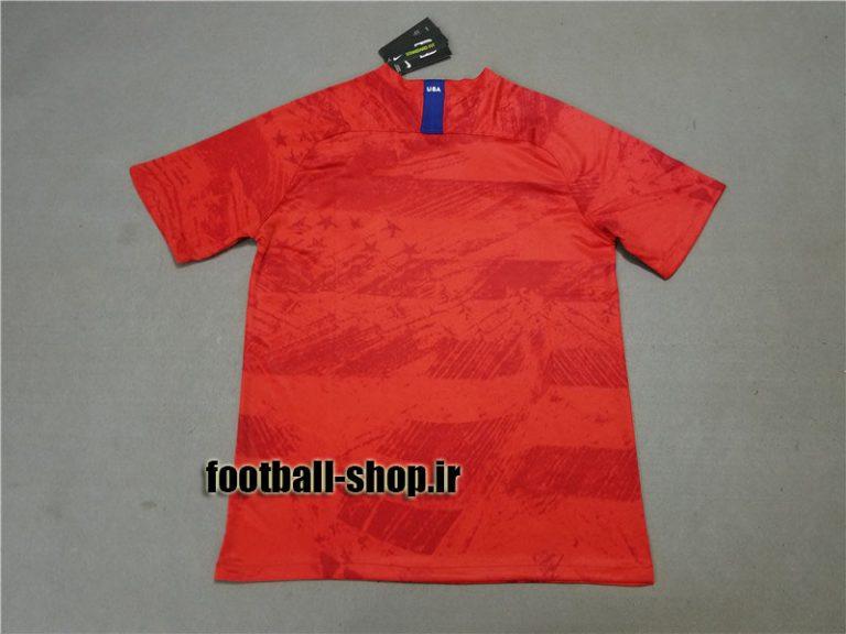 پیراهن دوم قرمز اورجینال 2019-2020 آمریکا-بی نام-Nike